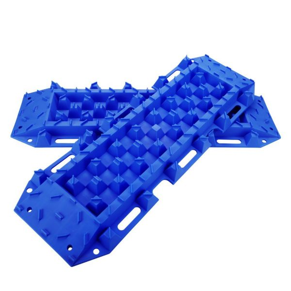 10T Heavy Duty Recovery Tracks Sand Track Snow Mud Tracks 10T Vehicle Blue 4WD